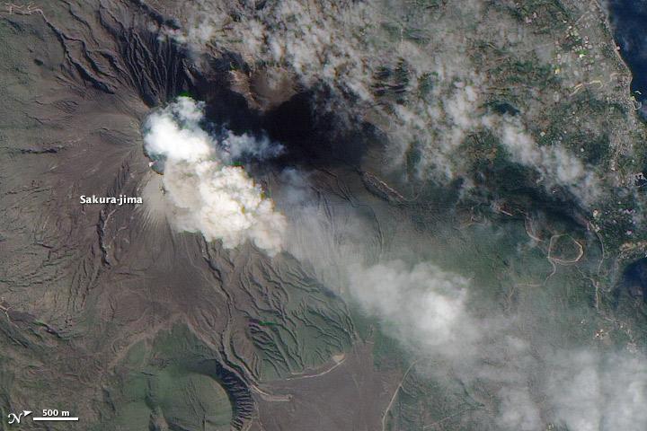 Activity at Sakurajima Volcano Intensifies
