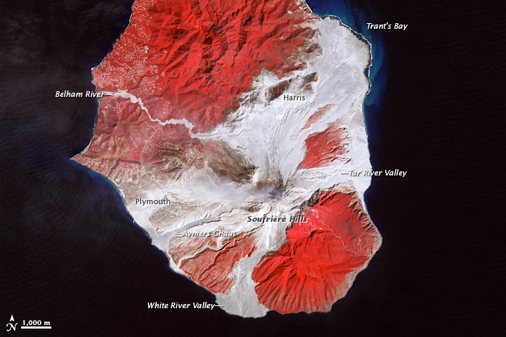 Soufriere Hills Volcano Resumes Activity