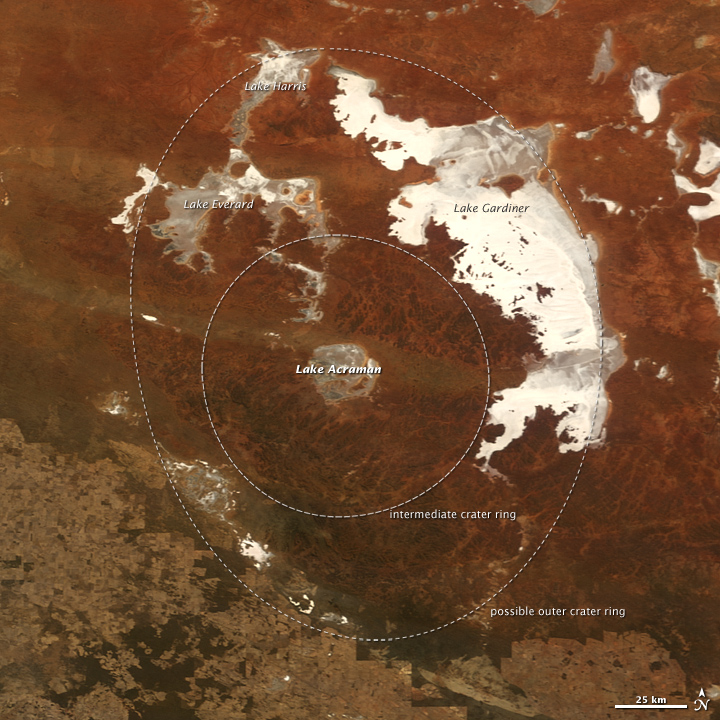 Acraman Impact Structure, South Australia