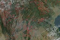 Fires in Burma, Thailand, Laos, Vietnam, China