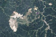 Growth of Mountaintop Mine, West Virginia, 1984-2009