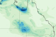 Heavy Rain in Queensland