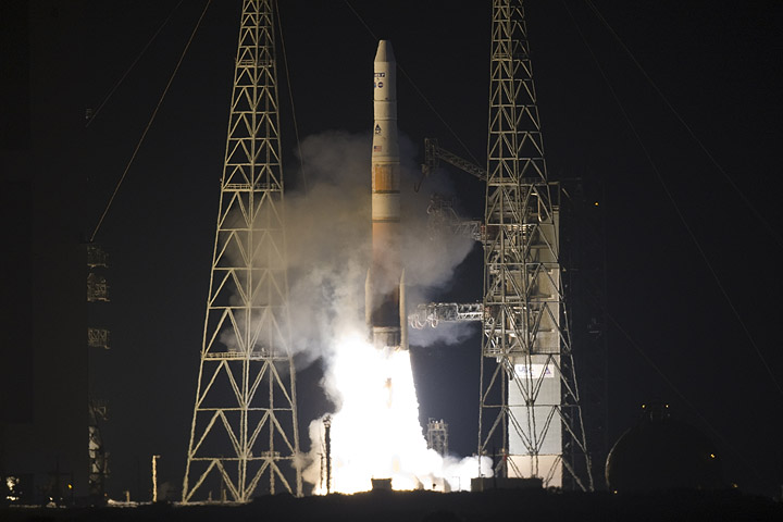 GOES-P Satellite Launches