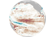 Kelvin Wave Renews El Niño - selected image