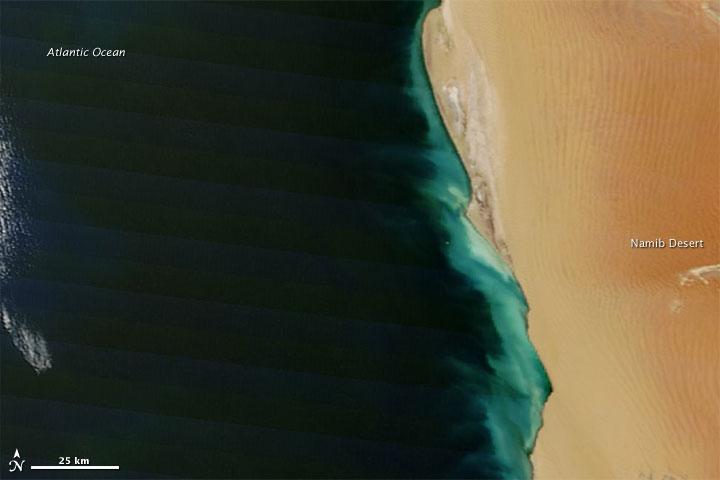 Hydrogen Sulfide Emissions along the Namibian Coast