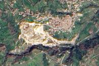 Landslide in Maierato, Italy