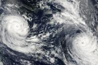 Tropical Cyclones Tomas and Ului