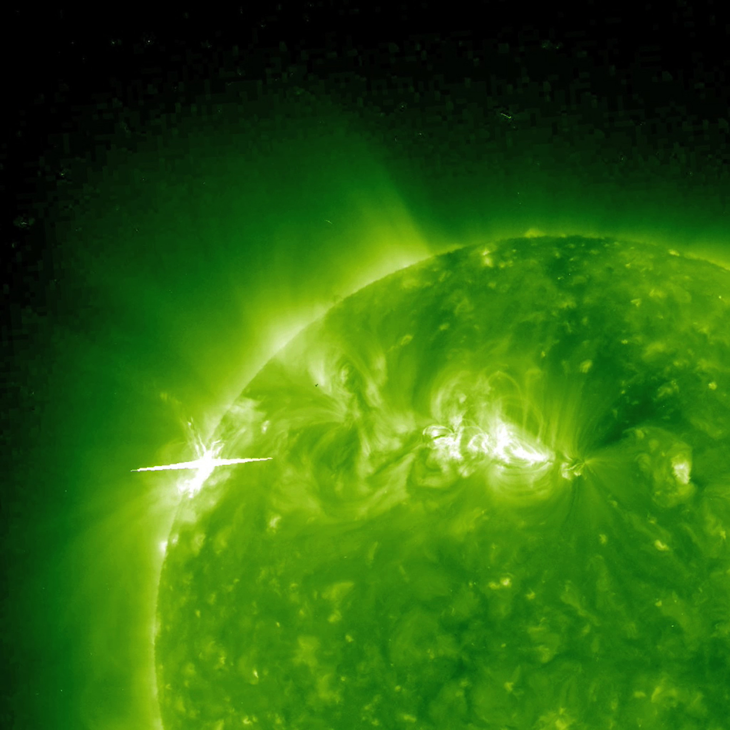 Solar Flare and Coronal Mass Ejection - related image preview