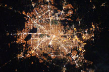 Houston, Texas at Night