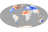 Temperature Anomalies, Winter 2009-2010