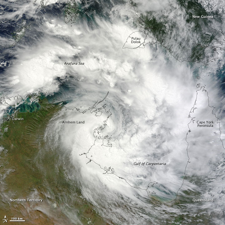 Tropical Cyclone Paul