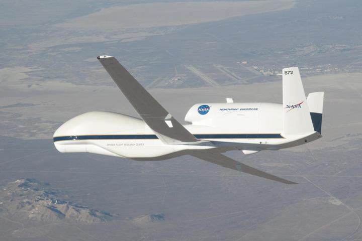 Global Hawk, NASA's New Remote-Controlled Plane