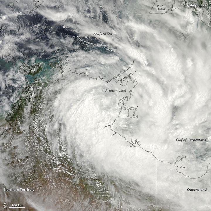 Tropical Cyclone Paul