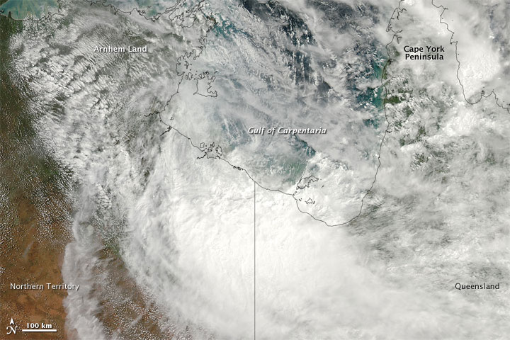 Remnants of Tropical Cyclone Paul