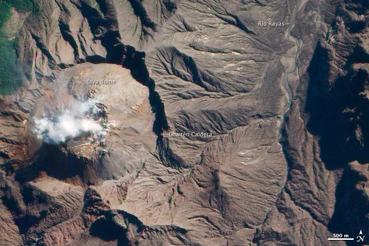 Minchinmavida and Chaitén Volcanoes, Chile