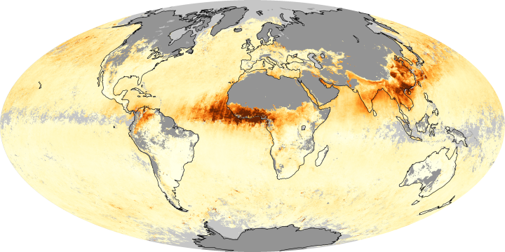 Global Aerosols March 2010