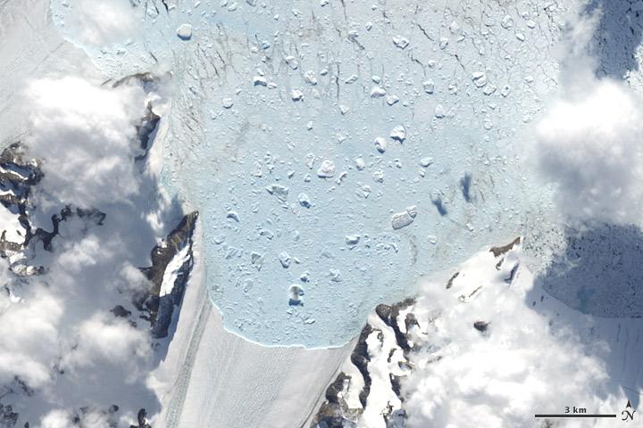 Retreat of Crane Glacier, Antarctic Peninsula