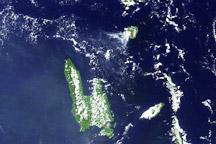 Eruption of Gaua Volcano