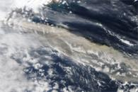 Ash Plume across the North Atlantic