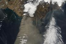 Eruption of Eyjafjallajökull Volcano, Iceland