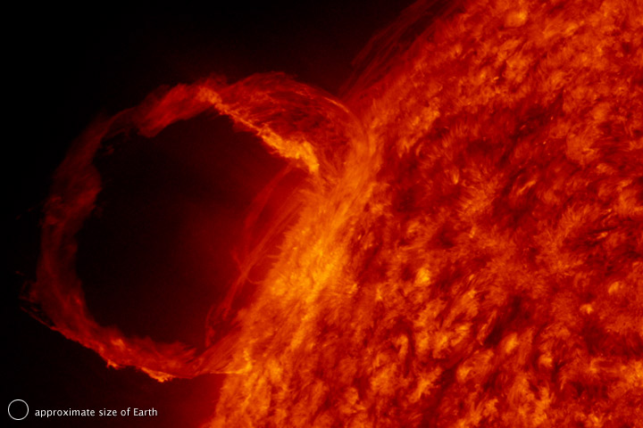 Prominence from the Solar Dynamics Observatory