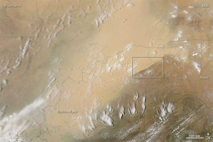 Sahara Dust Storm