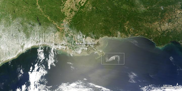 Gulf Oil Spill Creeps Towards Mississippi Delta