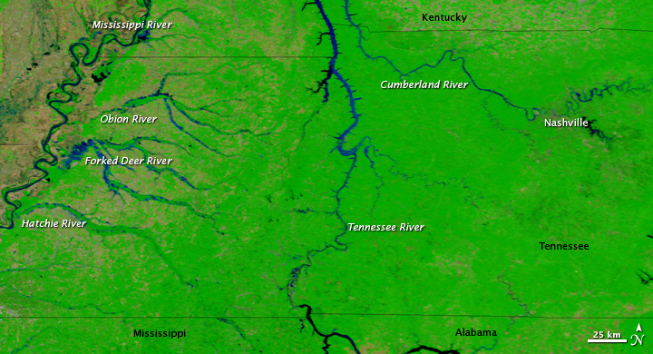 Record Floods in Tennessee