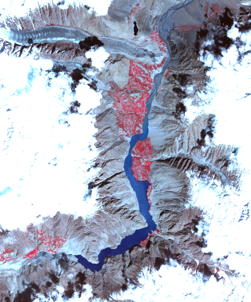 Landslide Lake in Northwest Pakistan - related image preview