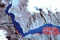 Landslide Lake in Northwest Pakistan