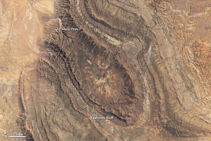 Wilpena Pound and St. Mary Peak, South Australia