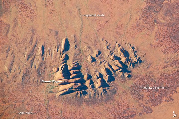 Kata Tjuta (The Olgas), Northern Territory, Australia