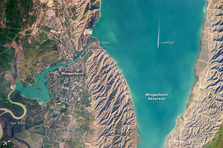 Mingachevir Reservoir, Azerbaijan