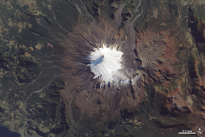 Volcan Villarrica, Southern Chile