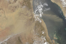 Dust Storm in Sudan