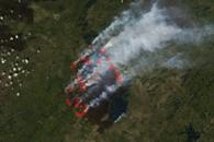 Fires in Saskatchewan, Canada