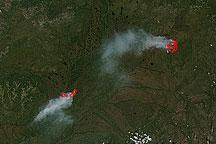 Fires in Eastern Siberia