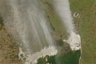 Dust Plumes over Argentina