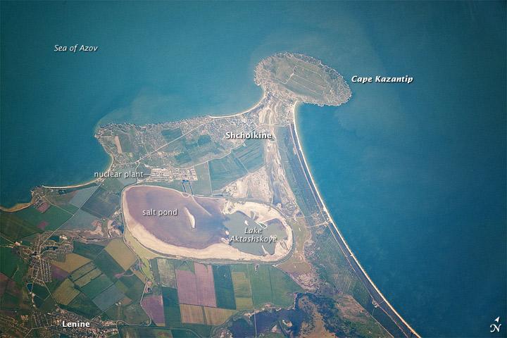 Cape Kazantip, Kerch Peninsula, Southern Sea of Azov, Ukraine