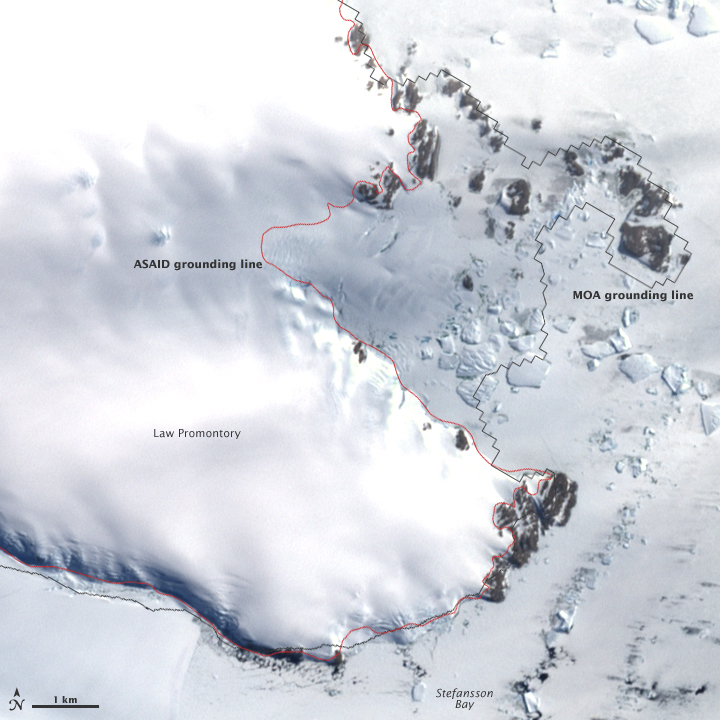New Map of Antarctica's Icy Edge