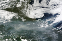 Smoke from Fires in Canada