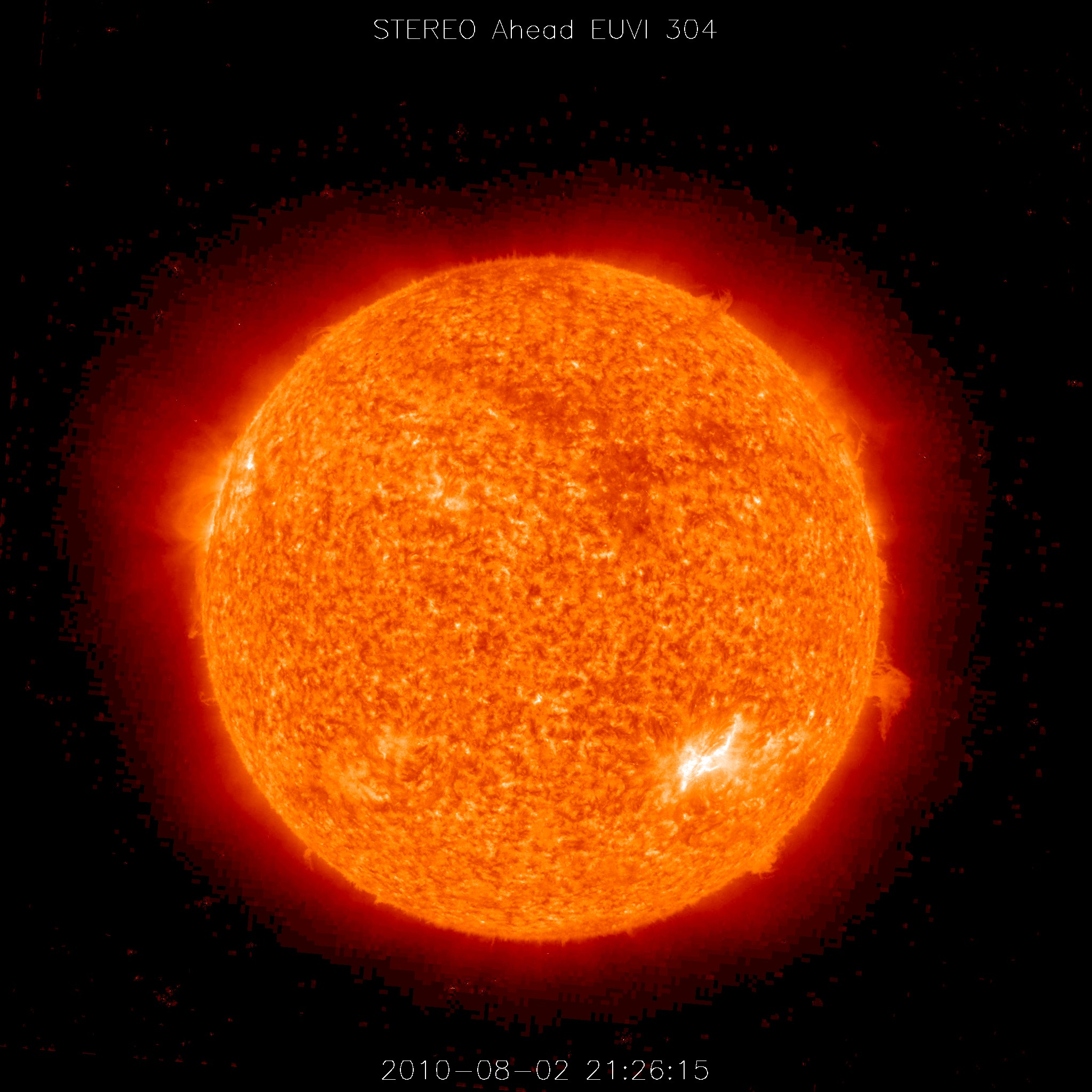 Solar Storm on August 1, 2010 : Image of the Day