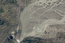 Flooding on the Kabul and Indus Rivers