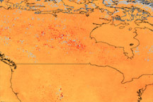 Smoke from Fires in Canada - selected image