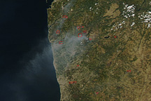 Fires in Portugal - selected image