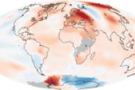 Global Temperature Anomalies, July 2010