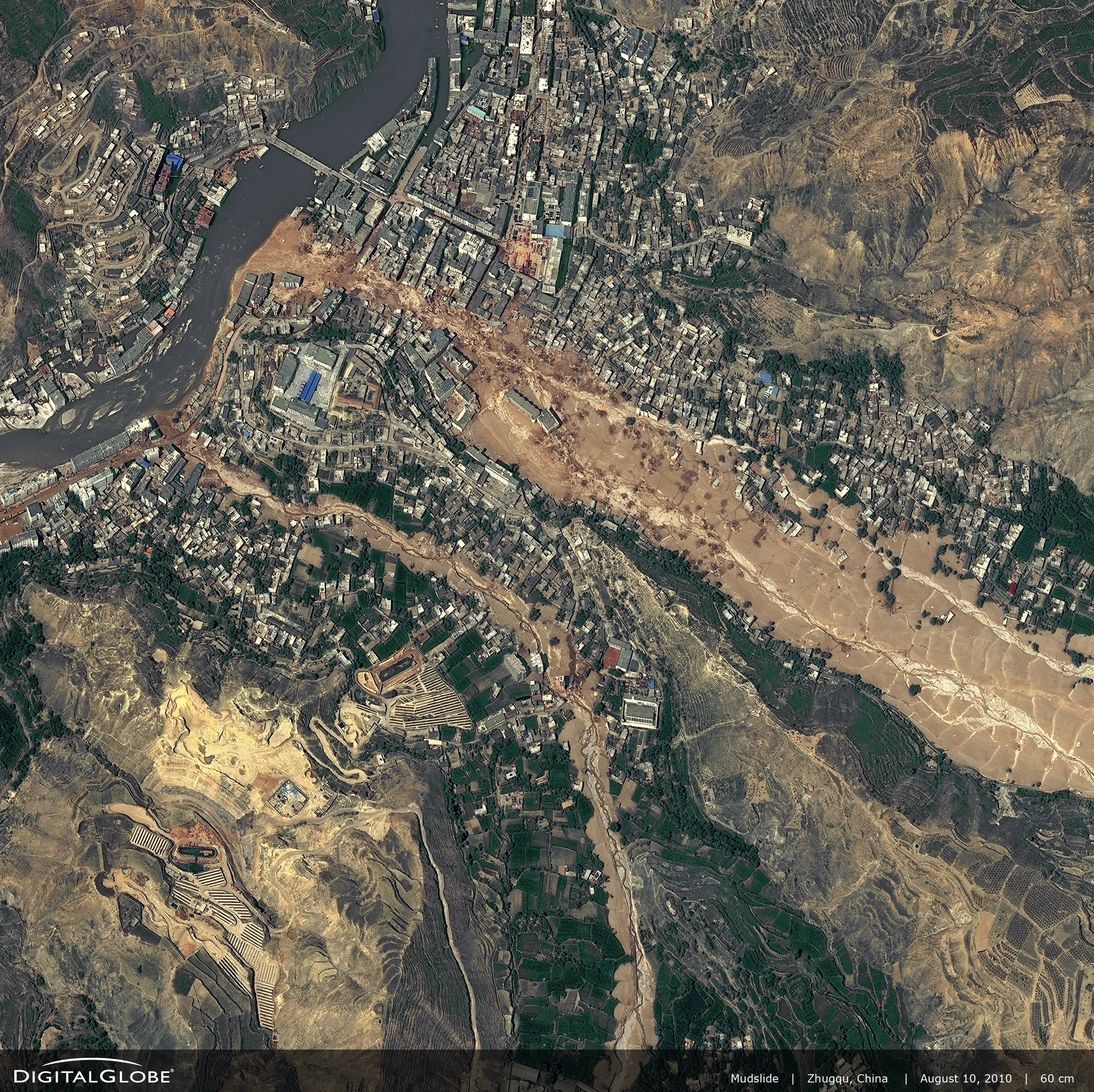 Landslide in Zhouqu, China - related image preview