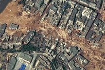 Landslide in Zhouqu, China