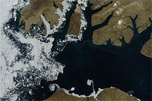 Sea Ice in McClure Strait