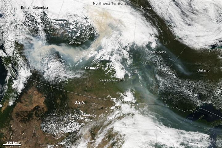 Fires in British Columbia, Canada